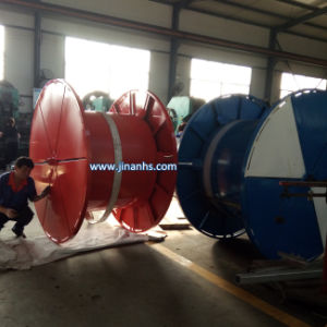 Hose Reel Irrigation System with Water for Irrigating Agriculture pictures & photos
