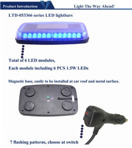 Round Blue LED Mini Warning Lights pictures & photos