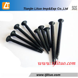 Black Phosphated Drywall Screw with Drilling Point pictures & photos