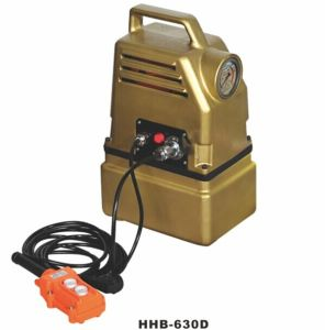 High Pressure Portable Electric Hydraulic Pump (HHB-630D) pictures & photos