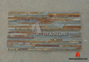 Rusty Slate Culture Stone for Garden and Wall Decoration pictures & photos