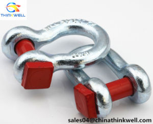 Us G2130 Forged Galvanized Bolt Type Anchor Shackle pictures & photos