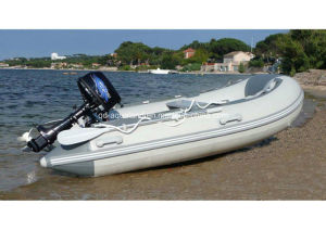 Aqualand 11feet 3.3m Rigid Inflatable Fishing Boat /Rib Motor Boat (RIB330) pictures & photos