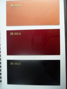 Acrylic Coloured MDF Sheets for Furniture Board (DEMET) pictures & photos