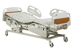 Five Function Electric Hospital Bed (ALK06-B01A) pictures & photos