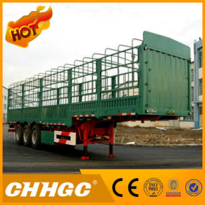 ISO CCC Approved Chhgc 60t 3 Axles Stake Semi-Trailer pictures & photos