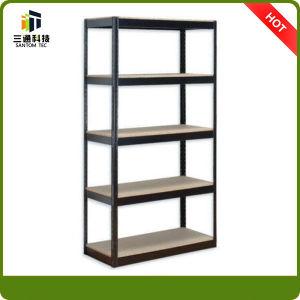 Adjustable Angled Metal Shelves, Shop Display Shelf pictures & photos