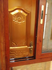 Classical Woodgrain Aluminium Bay Window (BHA-CW21) pictures & photos