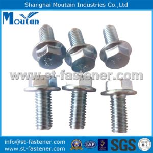 Hex Head Bolts with DIN933 Zinc Plated