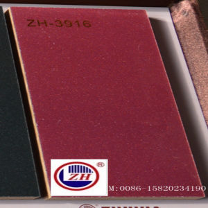 18mm Metallic UV MDF for Kitchen Cabinet Door (ZH-3916) pictures & photos