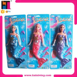 Children 11.5 Inch Mermaid Doll Toy for Christmas with Light Battery pictures & photos