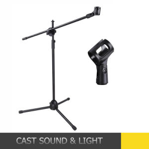 Cheap Microphone Stand Mic Clip 360 Degree Stage Disco Stand pictures & photos