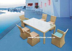 Wick Rattan Leisure Furniture/ Outdoor Garden Furniture (BP-3002A) pictures & photos