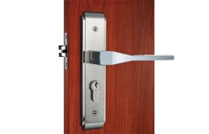 Stain Nickel Zinc Alloy Mortise Lock Set Residential Door Lock pictures & photos