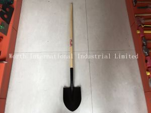 Long Wooden Handle Shovel with Second Grade Handle pictures & photos