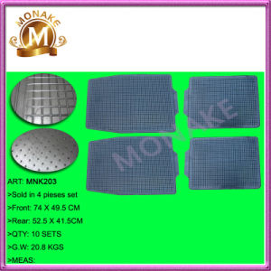 Top Quality Non-Slip Rubber Car Floor Mat for Trucks (MNK203) pictures & photos
