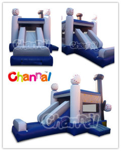 Baseball Inflatable Bouncer Combo/Kids Inflatable Jumper Bb075 pictures & photos