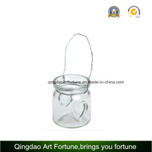 Tealight Glass Lantern Candle Holder for Outdoor Decoration pictures & photos