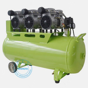 Dental Silent Oilless Air Compressor (piston type) (SOAC-63) pictures & photos