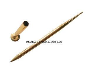 Silver/Gold Color Plastic Desk Pen (LT-Y060) pictures & photos