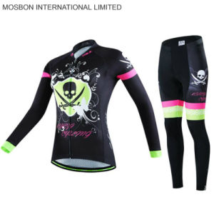 Top Quality Wholesale Cycling Jersey with Long Sleeves pictures & photos