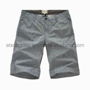 High Quantity 100% Cotton Men′s Shorts (BS14-0150B) pictures & photos