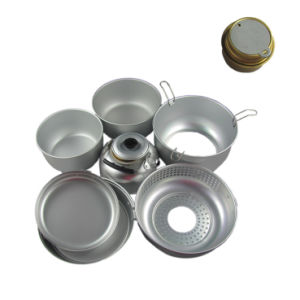 Cookset Mess Kit Camping Cookware pictures & photos