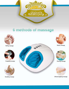 Pressure Therapy Foot Blood Circulation Massage Jkl-5200