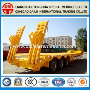 SGS ISO CCC Approved Gooseneck Low Bed/Lowboy Semi Trailer pictures & photos
