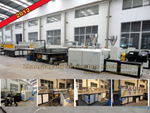 1220mm PVC WPC Foam Board Extrusion Line pictures & photos