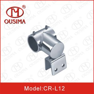 Ss304 Glass Shower Room Pipe Connector/ Tube to Pipe Fitting pictures & photos