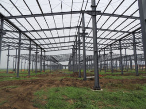Competitive Steel Structure Construction with Surface Hot Dipped Galvanized Z600gram/Sqm (CSSB-10100) pictures & photos