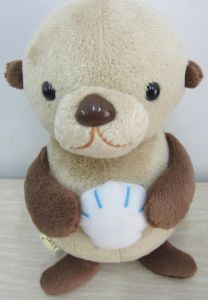 Cute Customized Stanind Bear with Food on Hand