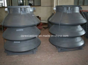 Hot Mesto/Extec/Symons/Terex /Trioiner Crusher Wear Castings, Crusher Wear Parts pictures & photos