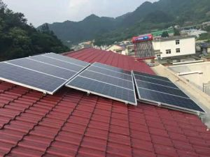 2000W off Grid Solar Power Supply System Station 110-260V AC Output pictures & photos