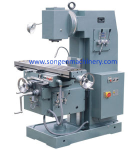 Table 1100X250/300mm Knee-Type Plain Vertical Milling Machine pictures & photos