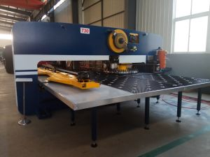 Special Heavy Steel Plate Hydraulic CNC Punching Machine Price pictures & photos