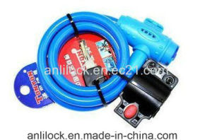 Color Bike Lock, Color Bicycle Lock, Color Cable Lock pictures & photos