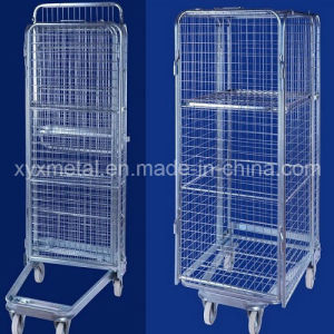 Nestable Folding Four Sided Security Roll Cage pictures & photos