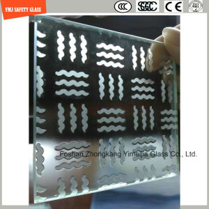 Acid Etched Tempered Anti Slipping Glass for Stairs pictures & photos