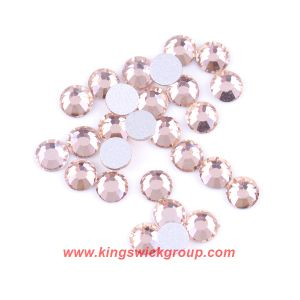 Wholesale Ss8 Light Peach Flat Back Rhinestones for DIY Cellphone Accessories pictures & photos