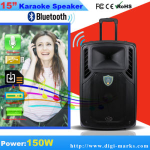 Bluetooth Wireless Portable Speaker with Revoving Lights Horn pictures & photos