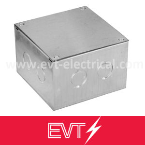 1 Gang Steel Distribution Box Junction Box pictures & photos