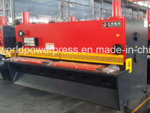 Metal Guillotine for 10mm Thickness Sheet Cutting pictures & photos