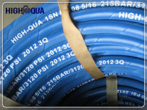 Cloth and Smooth Surface Black and Colorful Hydraulic Hose pictures & photos