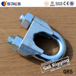 Galv DIN741 Malleable Wire Rope Clip pictures & photos