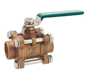 Brass Ball Valve, 3 Pieces Ball Valve, 3PC Ball Valve pictures & photos