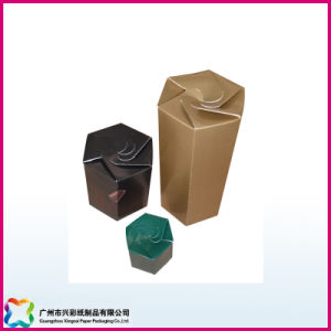 Sexangular Folding Packaging Box (XC-3-016) pictures & photos
