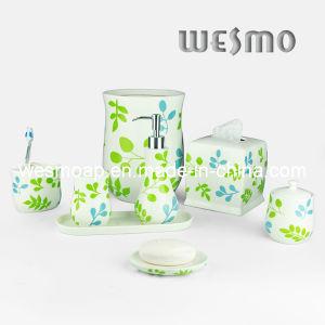 Decal Porcelain Bathroom Set (WBC0627A) pictures & photos