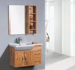 Solid Wood Modern Style Bathroom Vanity (ADS-662) pictures & photos